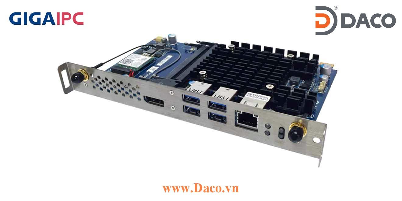 SDM-3350L Máy tính công nghiệp GigaIPC SMD Intel® Celeron® Processor N3350