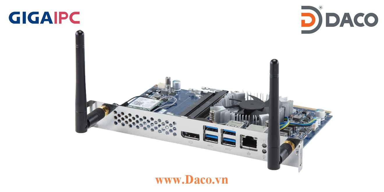 SDM-7100L Máy tính công nghiệp GigaIPC SMD Intel® i3-7100U Processor