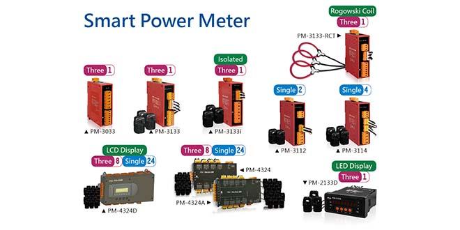 PM-CT Products Giới thiệu đồng hồ đo điện và Cảm biến dòng điện ICP DAS