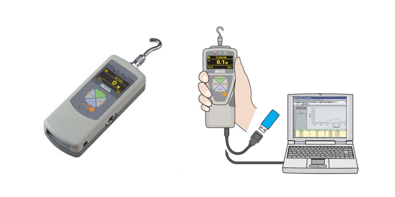 ZTS Máy đo lực kỹ thuật số Imada Mỹ 2N~5000N