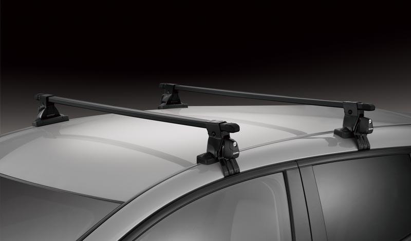 INSUT Thanh gá nóc ô tô ngang vuông, có khóa, Tải trọng 60kg, Chiều cao 100mm