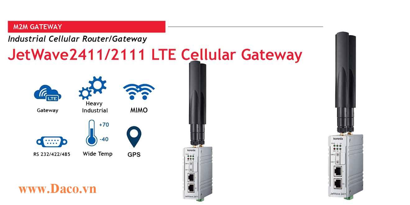JetWave 2111 LTE Cellular Gateway