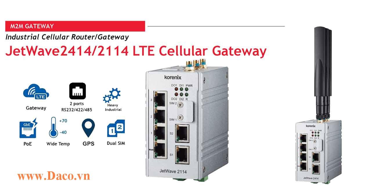 JetWave 2114 LTE Cellular Gateway