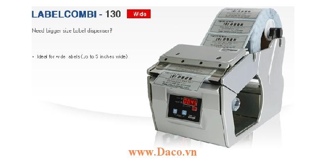 LabelCombi-130 Máy bóc tem nhãn, máy tách tem nhãn tự động kích thước tem nhãn 5~130mm