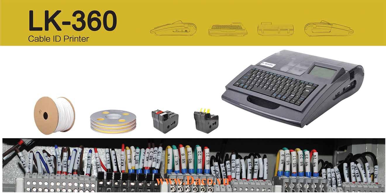 Giới thiệu & Trải nghiệm máy in Ống lồng đầu cốt Lmark LK360 Kết nối máy tính PC