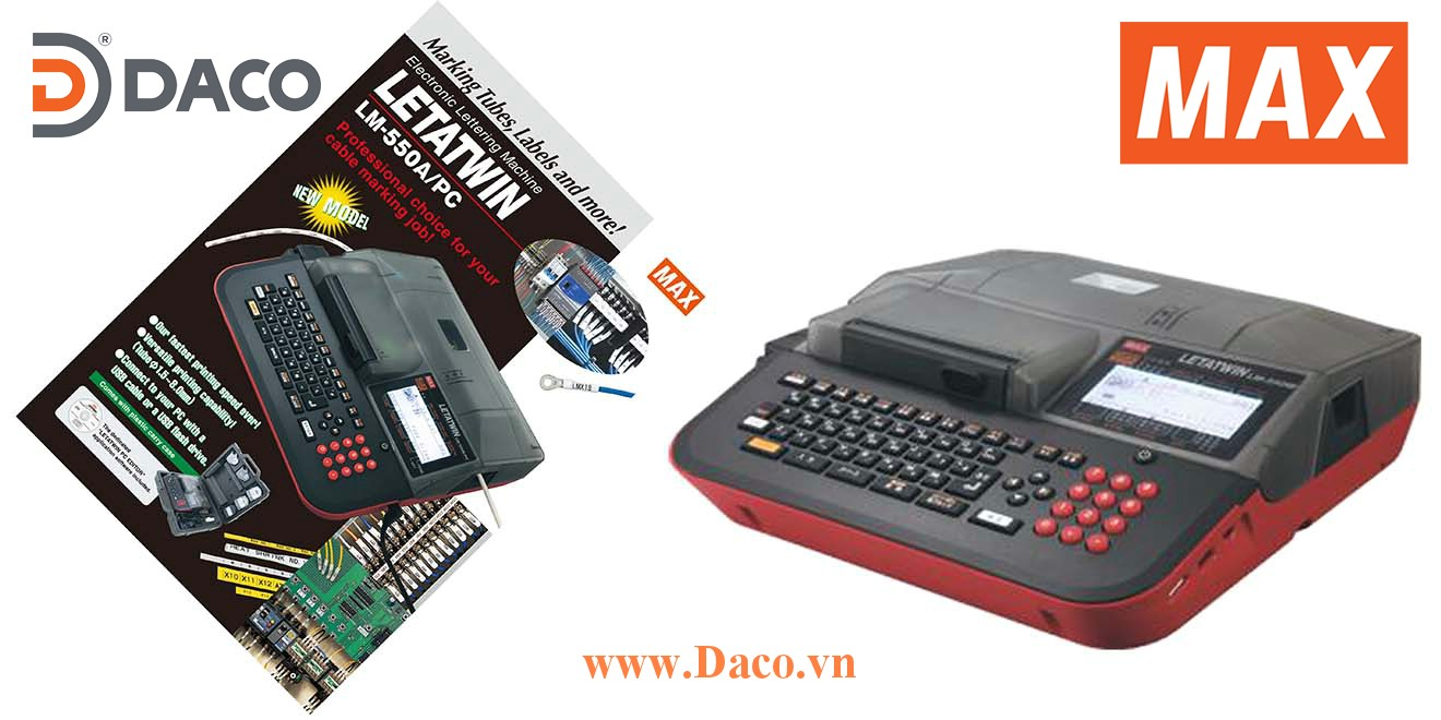 Catalogue-Software-MAX Tài liệu phần mềm máy in Ống lồng đầu cốt MAX Letatwin