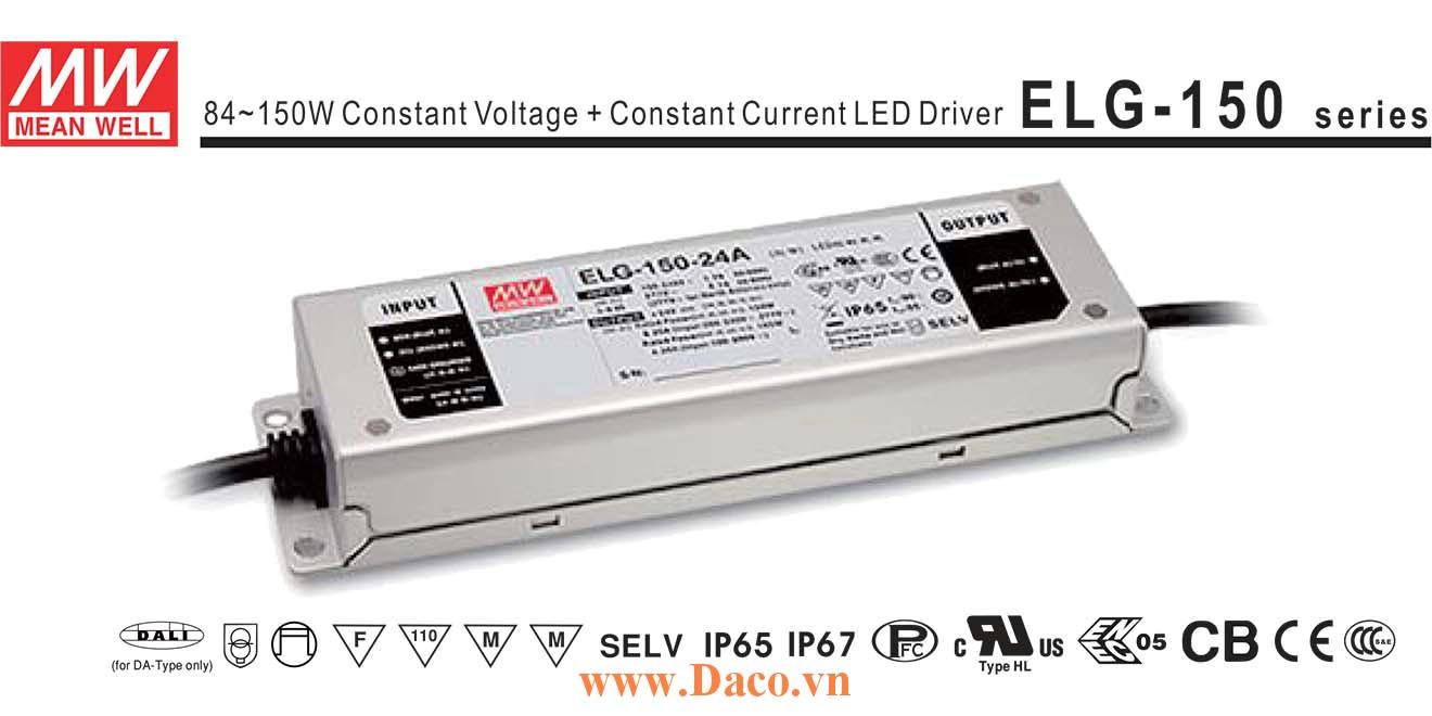 ELG-150-24-A Bộ chuyển nguồn 200VAC~305VAC sang 24VDC