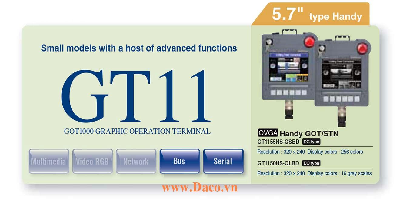 Màn hình cảm ứng Mitsubishi GT1155HS HMI 5.7 Inch