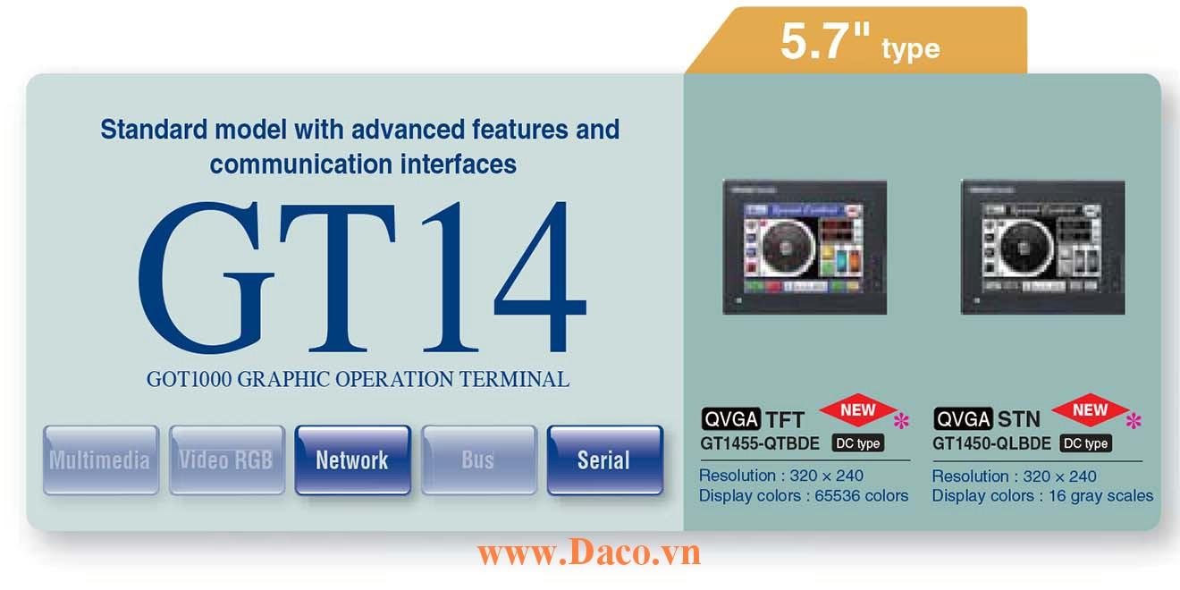 Màn hình cảm ứng Mitsubishi GT145M HMI 5.7 Inch