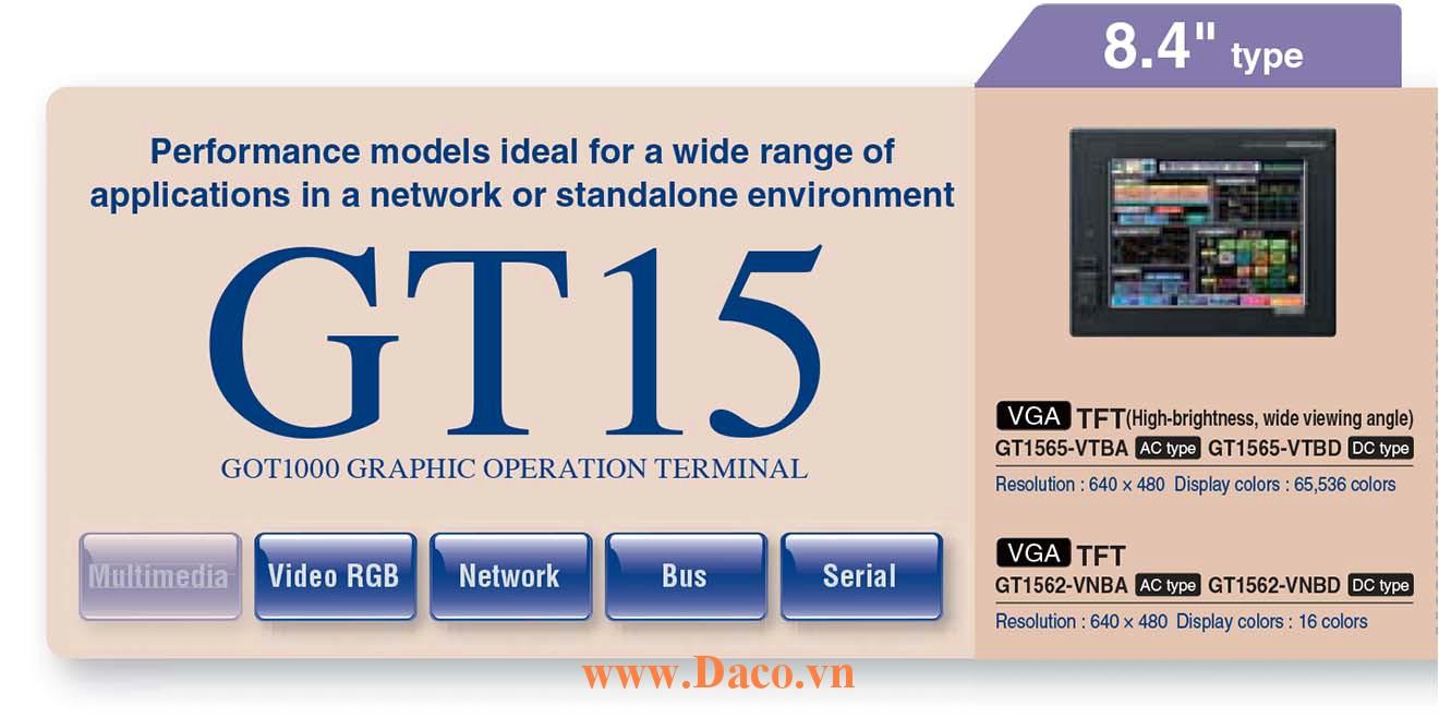 Màn hình cảm ứng Mitsubishi GT156M HMI 8.4 Inch
