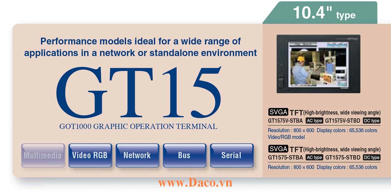 Màn hình cảm ứng Mitsubishi GT157M HMI 10.4 Inch
