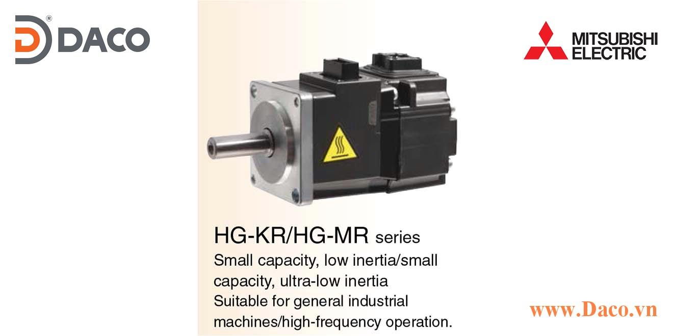 HG-MR Động cơ Servo Motor Mitsubishi 3000 vòng/phút