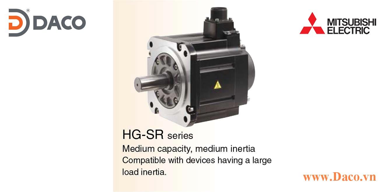 HG-SR Động cơ Servo Motor Mitsubishi 1000 vòng/phút