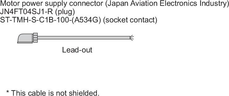 MR-JN Cáp Nguồn-Bộ điều khiển Mitsubishi Servo Driver Amplifier
