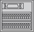 MR-JN Cáp Phanh-Bộ điều khiển Mitsubishi Servo Driver Amplifier
