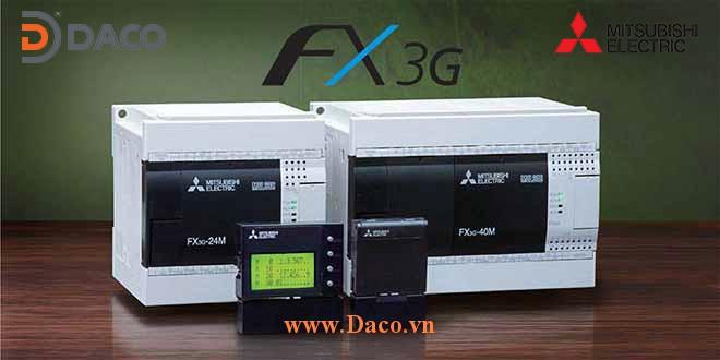 FX3G Bộ điều khiển lập trình PLC Mitsubishi