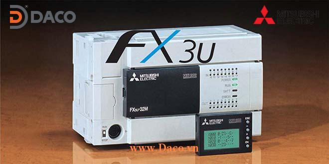 FX3U Bộ điều khiển lập trình PLC Mitsubishi