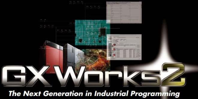GX Works 2 Phần mềm lập trình Mitsubishi