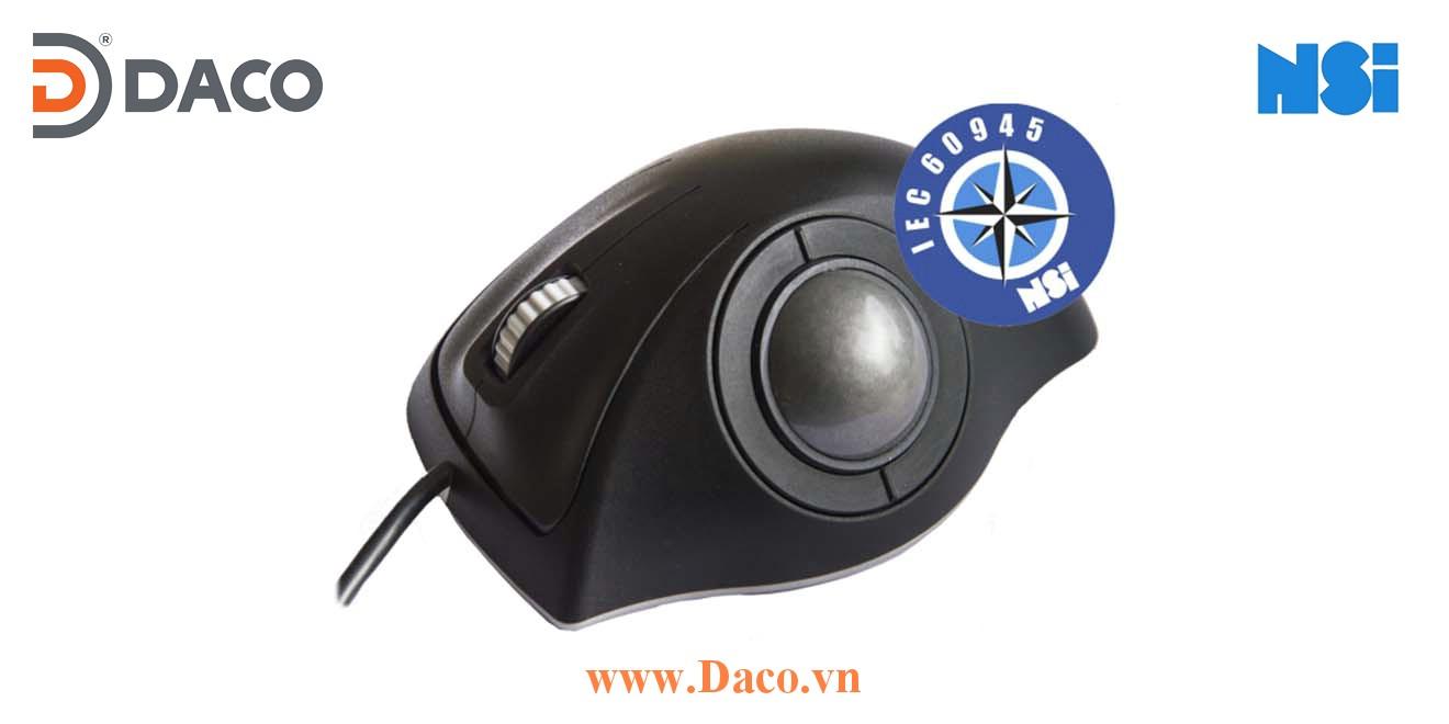 E38-76A31D-M017 Trackball bóng lăn di chuột chống thấm công nghiệp hàng hải