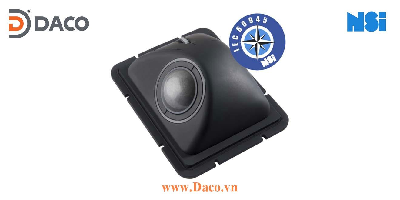 E50-76A2AD-M004 Trackball bóng lăn di chuột chống nước công nghiệp hàng hải NSI