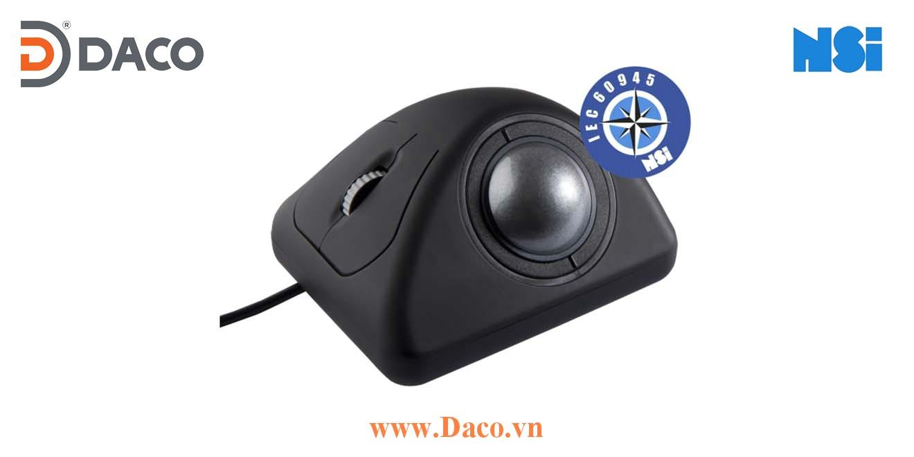 E50-76A31D-M000 Trackball bóng lăn di chuột chống nước công nghiệp hàng hải NSI