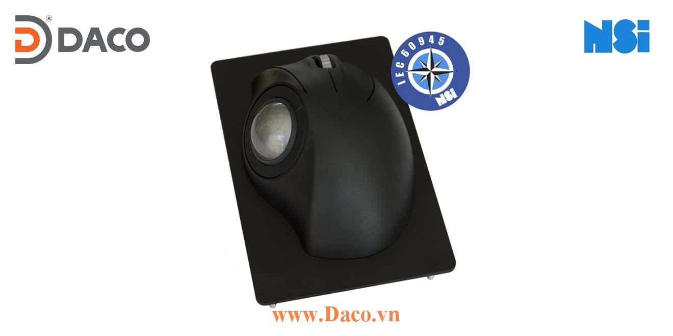 TBE38-M Trackball bóng lăn di chuột chống nước công nghiệp hàng hải NSI