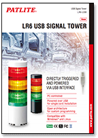 Patlite Catalogue Tower Light LR6 USB
