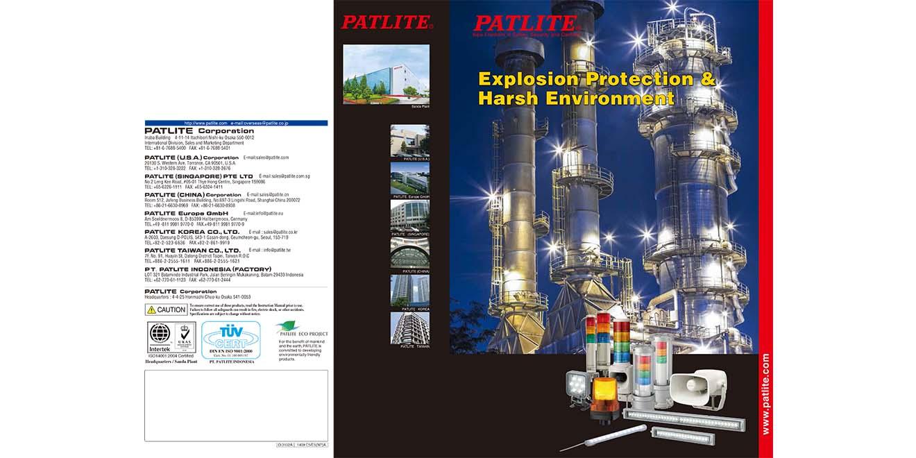 Đèn Loa Còi Báo Hiệu Phòng Nổ Patlite-Giới Thiệu