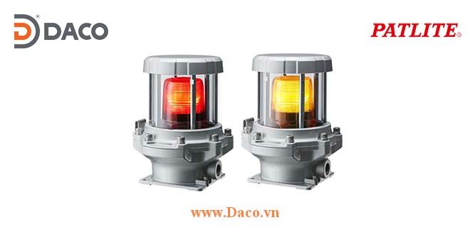 REL-M2-Y Đèn báo phòng nổ Patlite Bóng LED IP65, TIIS, 100~240 VAC