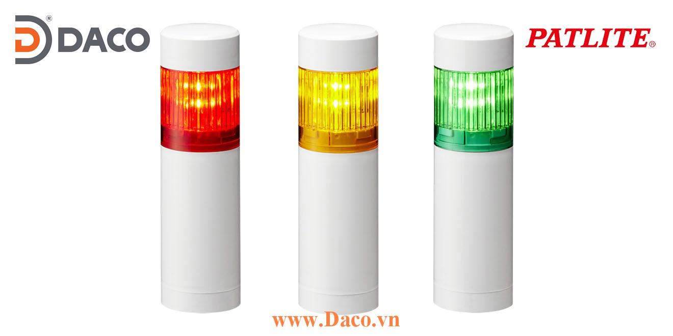 LR4-102WCNW Đèn cảnh báo tháp Patlite Φ40 Bóng LED 1 tầng IP65
