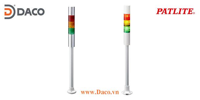 LR4-3M2PJNW-RYC Đèn cảnh báo tháp Patlite Φ40 Bóng LED 3 tầng IP65