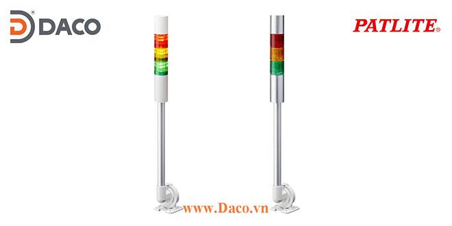 LR4-3M2QJNW-RYB Đèn cảnh báo tháp Patlite Φ40 Bóng LED 3 tầng IP65