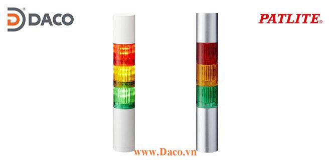 LR4-3M2WJNW-RYB Đèn cảnh báo tháp Patlite Φ40 Bóng LED 3 tầng IP65