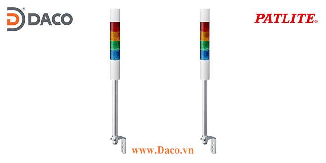 LR4-4M2LJNW-RYGB Patlite Đèn tháp báo hiệu Φ40 Bóng LED 4 tầng IP65