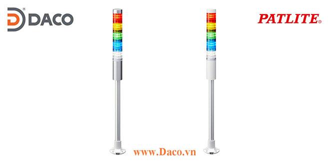 LR4-5M2PJNW-RYGBC Đèn báo hiệu tháp Patlite Φ40 Bóng LED 5 tầng IP65