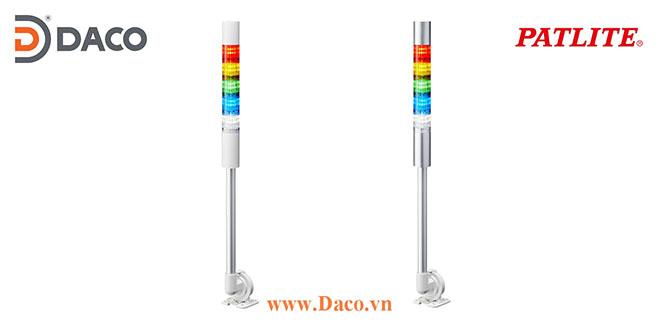 LR4-5M2QJNW-RYGBC Đèn báo hiệu tháp Patlite Φ40 Bóng LED 5 tầng IP65