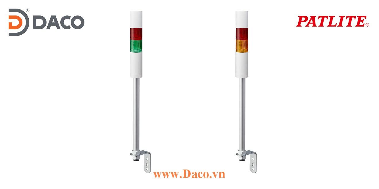 LR5-202LJNW-RG Đèn báo tháp Patlite Φ50 Bóng LED 2 tầng IP65
