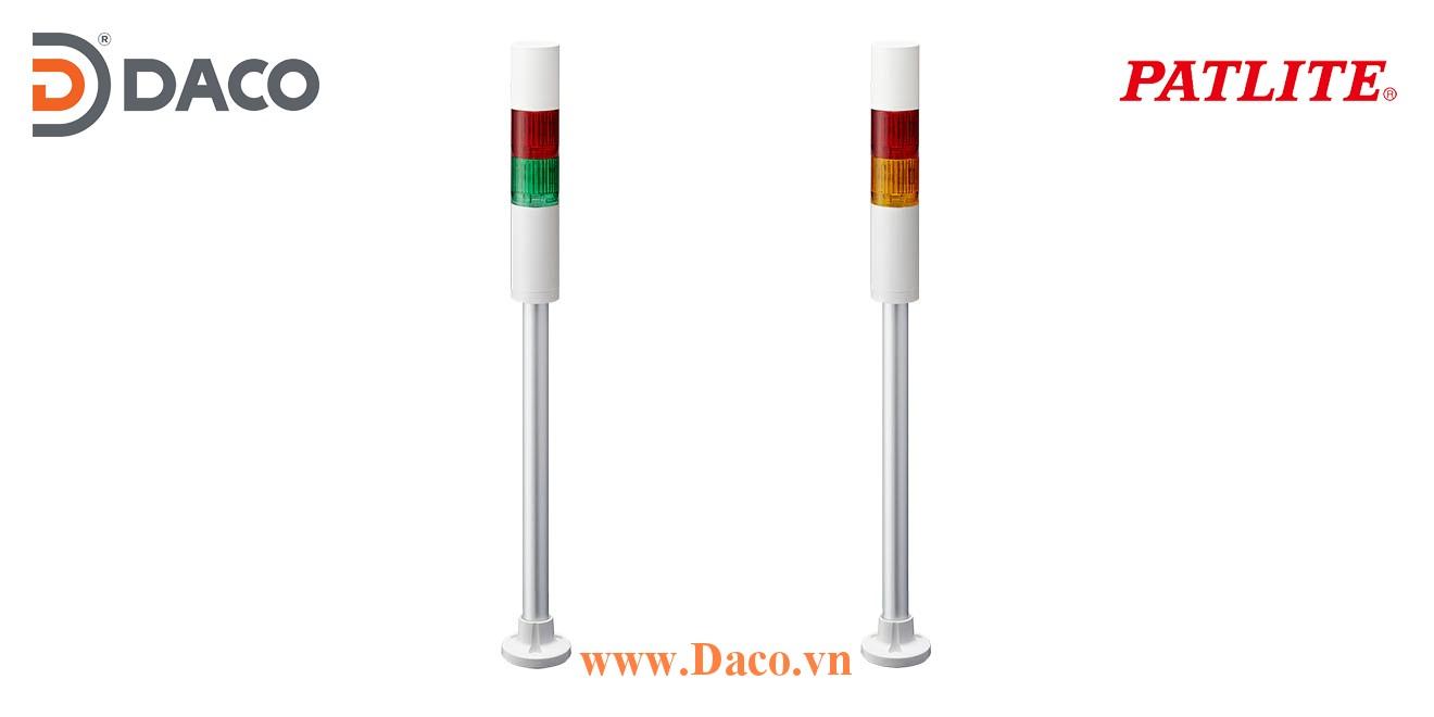 LR5-202PJNW-RC Đèn báo tháp Patlite Φ50 Bóng LED 2 tầng IP65