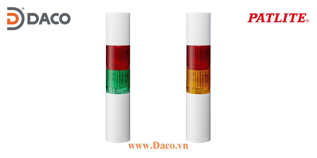 LR5-202WJNW-RC Đèn báo tháp Patlite Φ50 Bóng LED 2 tầng IP65