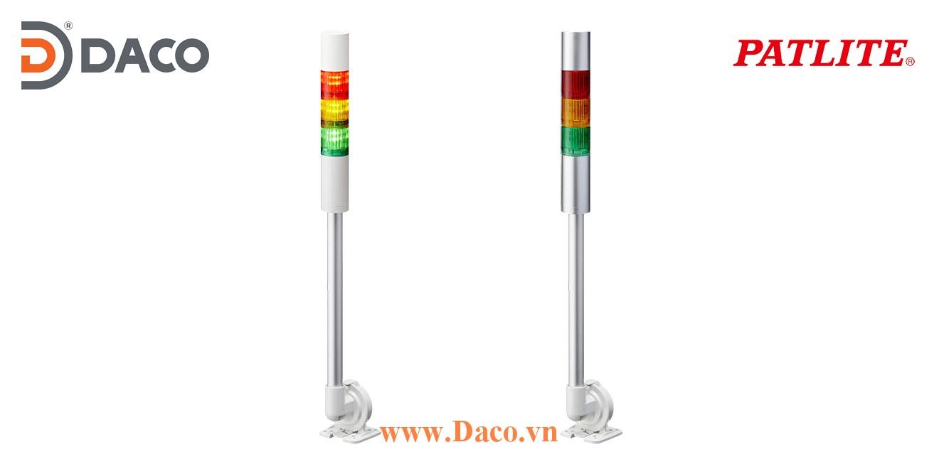 LR5-302QJNW-RYB Đèn báo tháp Patlite Φ50 Bóng LED 3 tầng IP65