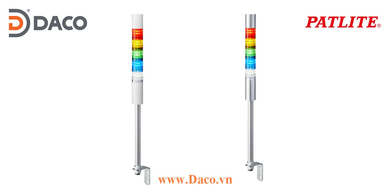 LR5-502LJNW-RYGBC Đèn tháp Patlite Φ50 Bóng LED 5 tầng IP65