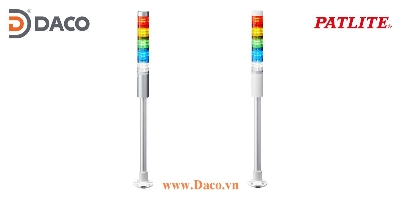 LR5-501PJBW-RYGBC Đèn tháp Patlite Φ50 Bóng LED 5 tầng Còi Buzzer 85dB IP65