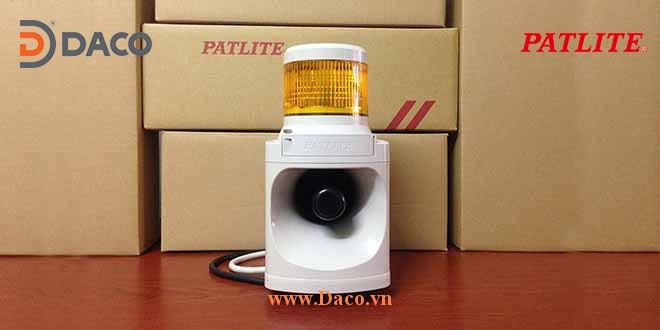 LKEH Hình ảnh thực tế Đèn tháp có loa 32 âm báo hiệu tín hiệu cảnh báo Patlite