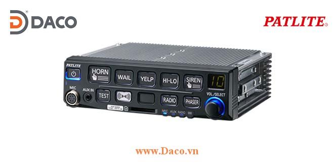 Bộ tạo tín hiệu còi hú xe ưu tiên Patlite SAP-520EB, 50W, 12V cho xe ưu tiên