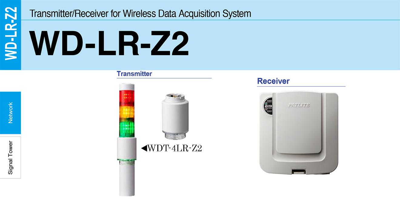 WDT-4LR-Z2 Module phát tín hiệu không dây cho đèn tháp Patlite Φ40 Wifi Đèn tháp LR4 IP65