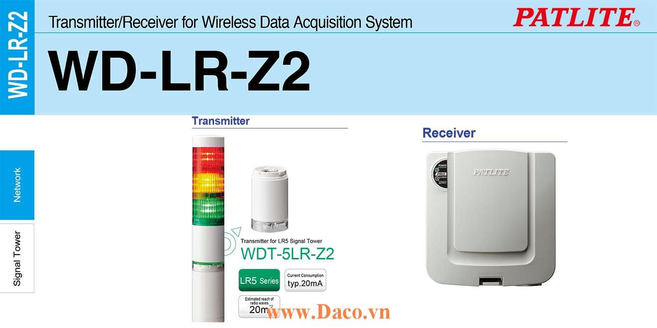 WDT-5LR-Z2 Module phát tín hiệu không dây cho đèn tháp Patlite Φ50 Wifi Đèn tháp LR5 IP65