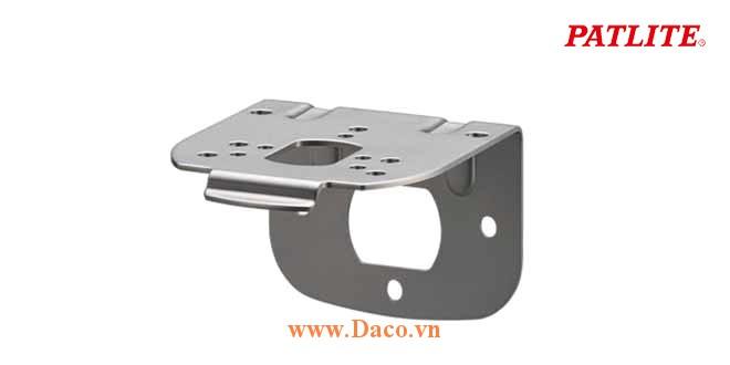 SZK-102 Chân gá gắn tường cho đèn báo Patlite Φ80, 100, SL08, SL10, SKS, SKH, SF08, SF10, Thép