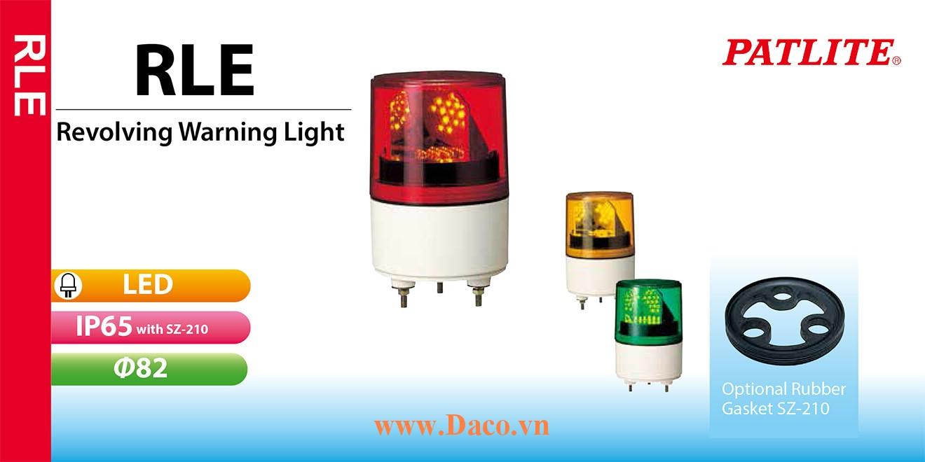 RLE-220-B Đèn quay Patlite Φ82 Bóng LED IP23