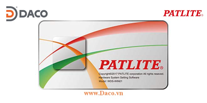 Patlite Software Phần mềm Đèn Loa Còi Báo Hiệu Patlite Nhật Bản