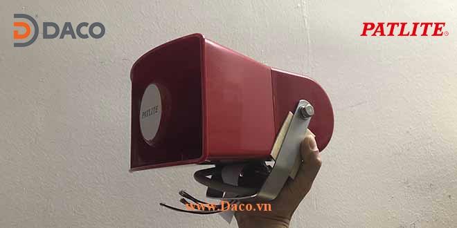 EWH Hình ảnh thực tế Loa còi báo hiệu 32 âm báo 105dB Patlite